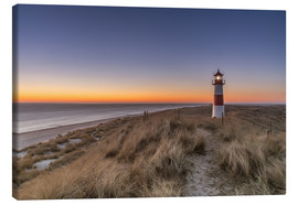 Lienzo  Sylt island - Lighthouse Sylt Ost (Sunrise) - Achim Thomae