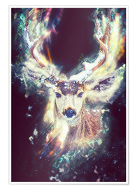 Póster Magic Stag