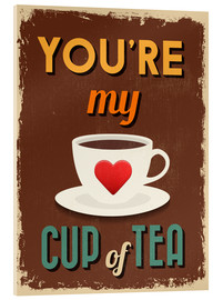 Metacrilato  You are my lovely cup of tea - Typobox