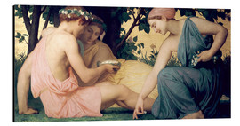 Cuadro de aluminio  Le Printemps - William Adolphe Bouguereau