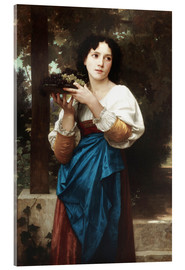 Cuadro de metacrilato  In the vine - William Adolphe Bouguereau