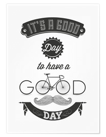 Póster Good day