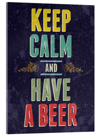 Typobox - Keep calm and have a beer