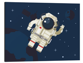 Aluminio-Dibond  Hello, little astronaut - Kidz Collection