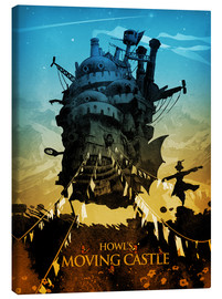 Lienzo  Howl's Moving Castle (El castillo ambulante) - Albert Cagnef