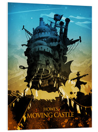 Forex  Howl?s Moving Castle 2 colors18x24 2 - Albert Cagnef