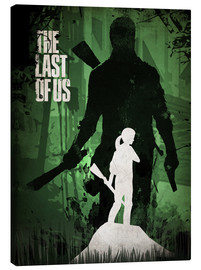 Lienzo  The Last Of Us - Albert Cagnef