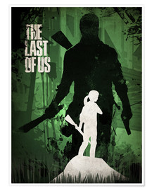 Póster  The Last Of Us (inglés) - Albert Cagnef