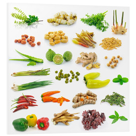 Vegetable and herb collection