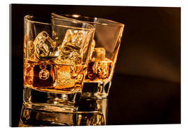 Cuadro de metacrilato  Whisky glasses