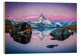 Madera  Stellisee and Matterhorn in the Swiss Alps - Jan Christopher Becke