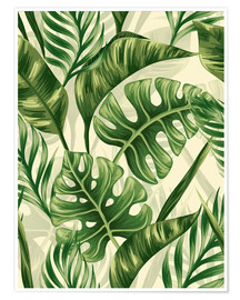 Póster  Monstera