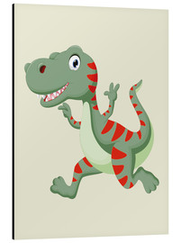 Aluminio-Dibond  Laughing Dino - Kidz Collection