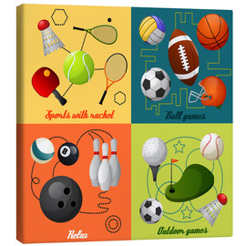 Lienzo  Do some sports - Kidz Collection