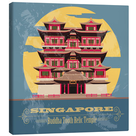 Lienzo  Singapore - Buddha Tooth Relic Temple