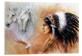 Metacrilato  American Indian with horses