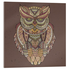 Cuadro de metacrilato  Owl - colours of the forest