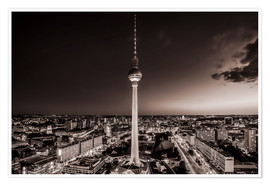 Póster Berlin TV Tower