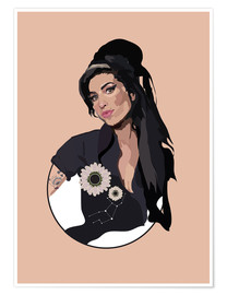 Póster  Amy Winehouse - Anna McKay