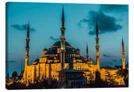 Lienzo  Blue Mosque in Istanbul
