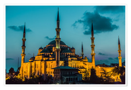 Póster  Blue Mosque in Istanbul