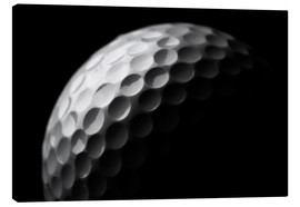 Lienzo  Golf ball in the macro