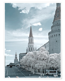 Póster  Kremlin towers