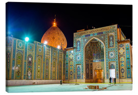 Lienzo  Shah Cheragh, a funerary monument and mosque in Shiraz, Iran