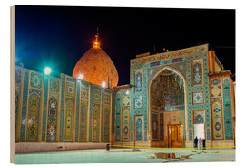 Madera  Shah Cheragh, a funerary monument and mosque in Shiraz, Iran