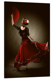 Aluminio-Dibond  Flamenco dancer