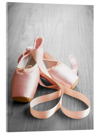 Metacrilato  pink ballet shoes