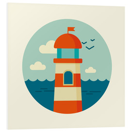Forex  Lighthouse in a circle - Kidz Collection