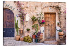 Lienzo  Old Town in Valldemossa (Mallorca, Spain) - Christian Müringer