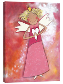 Lienzo  Blonder guardian angel for girls - Atelier BuntePunkt