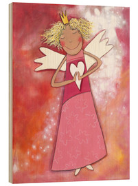 Madera  Blonder guardian angel for girls - Atelier BuntePunkt