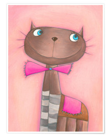 Póster Candy Cat