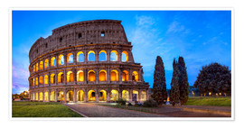 Póster  Coliseum in Rome Italy - Jan Christopher Becke