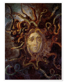 Póster  Head of Medusa - Peter Paul Rubens