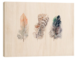 Madera  3 plumas - Verbrugge Watercolor
