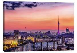 Lienzo  Berlin skyline in summer - Sören Bartosch