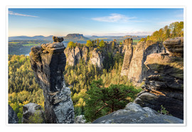 Póster  Saxon Switzerland - Michael Valjak
