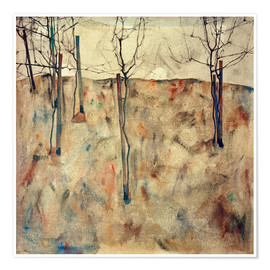 Póster Bare Trees