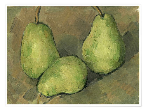 Póster Three Pears
