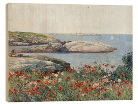 Madera  Poppies, Isles of Shoals - Frederick Childe Hassam