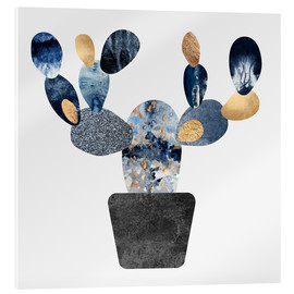 Elisabeth Fredriksson - Blue And Gold Cactus