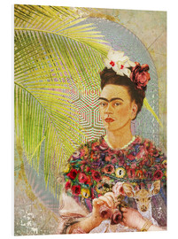 Forex  Frida Kahlo con cervatillo - Moon Berry Prints