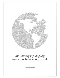 Póster  Limits of my language - RNDMS