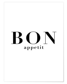 Póster  Bon Appetit - Finlay and Noa