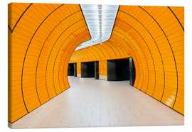 Lienzo  Marienplatz  subway station in Munich - Dieter Meyrl
