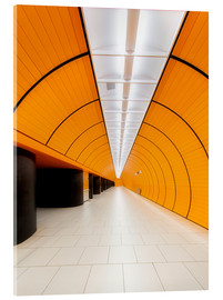 Cuadro de metacrilato  Marienplatz  subway station in Munich - Dieter Meyrl